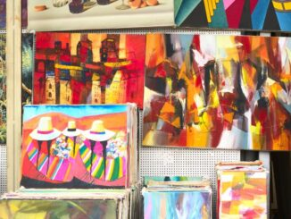 Udsmyk din bolig med store malerier